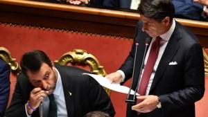 Premier Conte neemt ontslag met scherpe aanval op Salvini