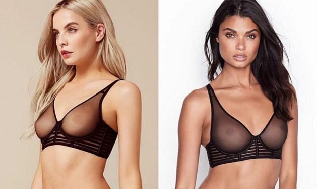 Victoria's Secret heeft wel heel goed gekeken naar ontwerp van bekend lingeriemerk