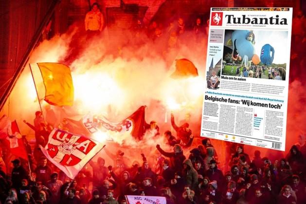 Nederland heeft schrik van Belgische invasie: Antwerp-fans op de voorpagina, extra politie in Enschede