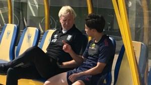 Ito en Lucas allebei op oefenveld STVV