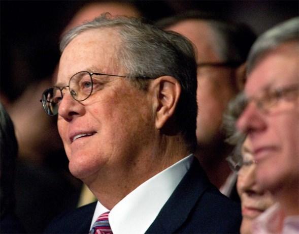 Invloedrijke Amerikaanse miljonair David Koch overleden