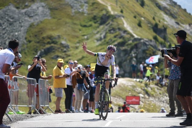 Australiër Evans wint spektakelrit in Ronde van de Toekomst