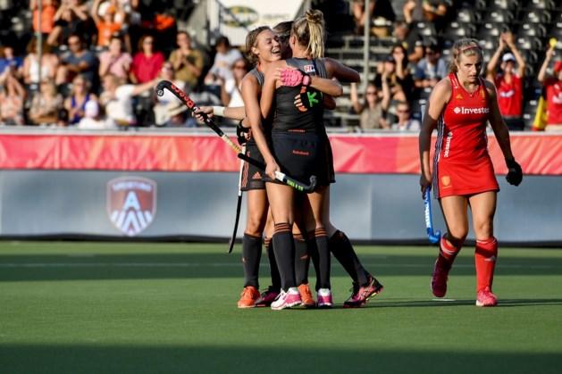 Nederlandse hockeysters halen opnieuw uit: nu winnen ze de halve finale van het EK hockey met 8-0 (!)