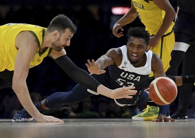 Australië dient VS eerste nederlaag in 13 jaar toe in aanloop naar WK basket