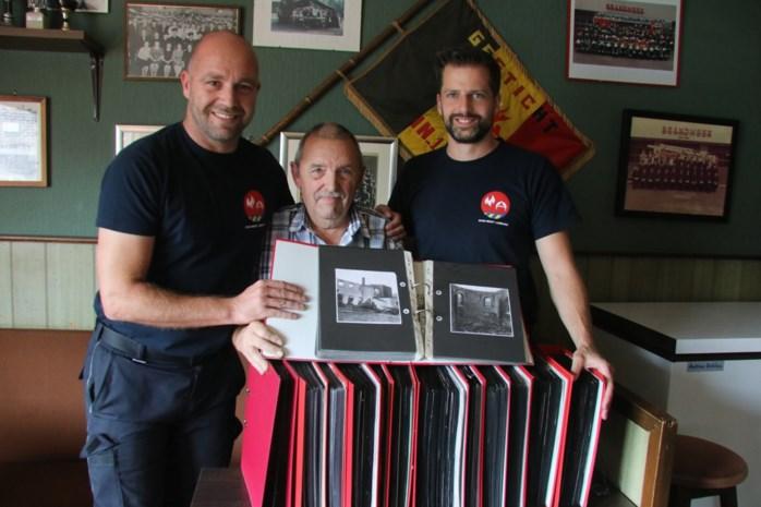 Vijftig jaar brandweer, vereeuwigd op krantenpapier