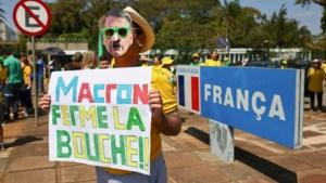 """Braziliaanse minister haalt zwaar uit naar Franse president Macron: """"Een opportunistische idioot"""""""