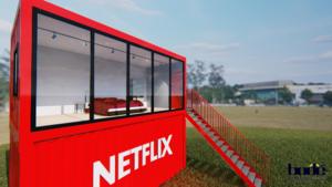 Boek via Airbnb een 'Netflix & Chill'-container op de Corda Campus
