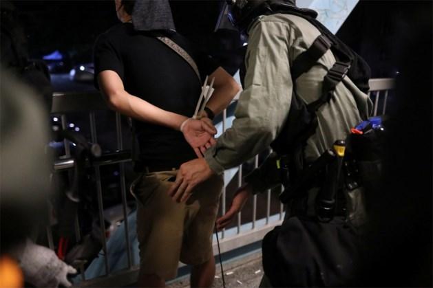 Spanning stijgt weer in Hongkong: politie pakt drie activistenleiders op net voor nieuw protestweekend