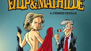 Koningin Mathilde siert cover in haar blootje