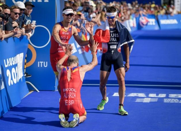 Fransman Vincent Luis is wereldkampioen triatlon, Marten Van Riel vijfde in eindstand