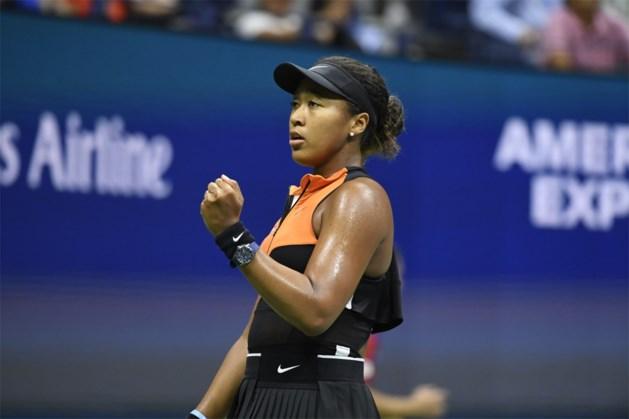 US OPEN. Titelverdedigster Naomi Osaka voorbij Gauff naar achtste finales