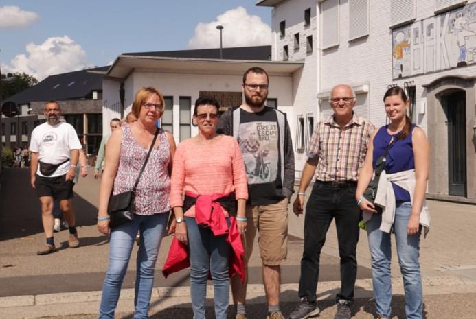 1.000 wandelaars brengen eerbetoon aan vermoorde Jonas Vlayen