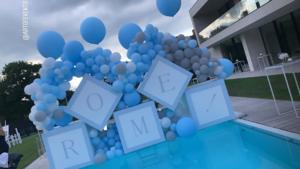 De Bruyne viert doop zoontje met hulp van eventplanner: