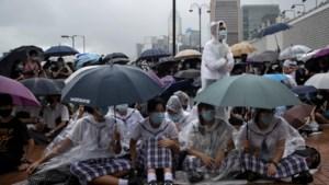 In Hongkong staken studenten op eerste schooldag