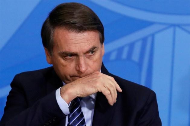 Bolsonaro zegt af voor top over Amazonegebied: Braziliaanse president moet onder het mes