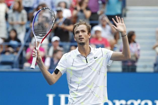 US Open: Medvedev en Svitolina bereiken als eerste halve finale, Elise Mertens al in halve finale… dubbelspel