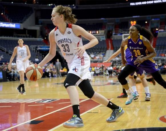 Emma Meesseman schittert en boekt met de Washington Mystics 24e zege van het WNBA-seizoen
