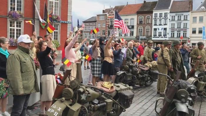 75 jaar bevrijding in Sint-Truiden herdacht met doortocht van 'The September Odyssee'