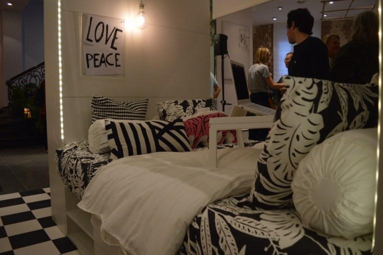 Pop-upwinkel van Ikea in hartje Leuven wil je helpen om beter te slapen