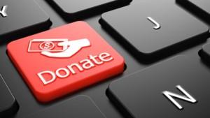 Ook online giften zijn voortaan fiscaal aftrekbaar