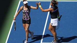 Elise Mertens staat in dubbelspel op US Open wel in halve finales, daarin treft ze Amerikaans duo