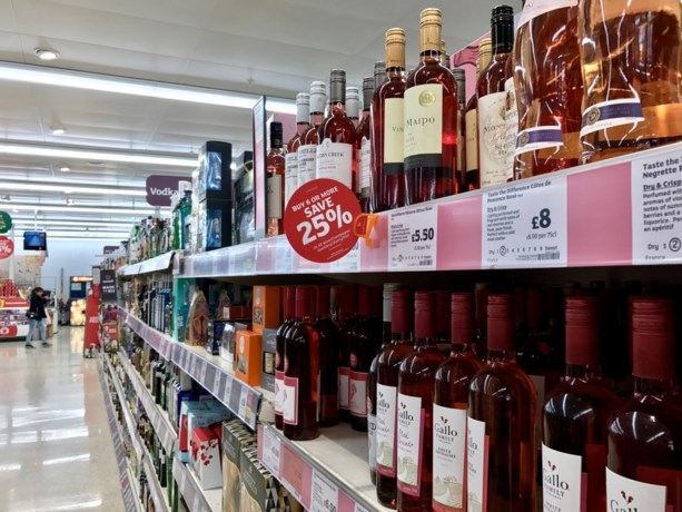 Alcohol in België duurder dan gemiddeld in EU