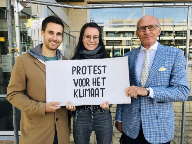 """Burgemeester steunt klimaatprotest van koppel: """"Ik ga niet naar Nieuw-Zeeland"""""""