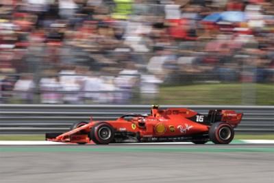 Charles Leclerc pakt pole in Monza, Mercedes laat zich rollen door te surplacen