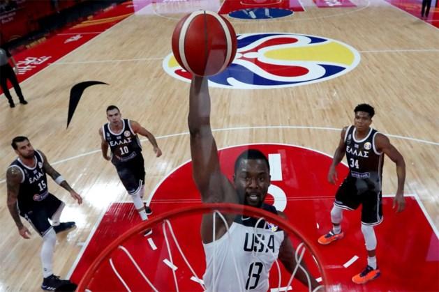 VS blijft foutloos op WK basketbal na simpele winst, drie flaterende refs op non-actief