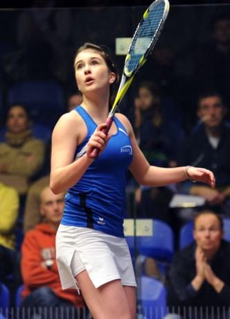 EK squash: Nele Gilis verovert eerste Europese titel