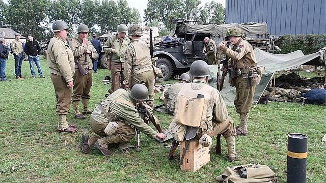 Leven zoals Amerikaanse soldaten bij de bevrijding van Hasselt in 1944