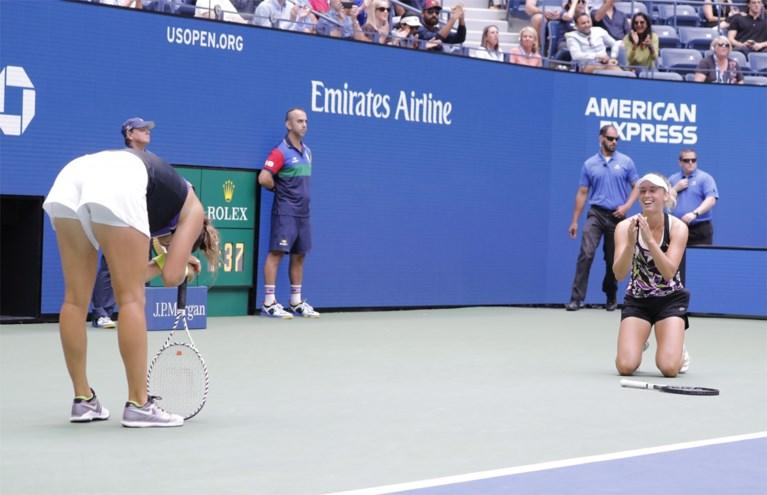 """Elise Mertens pakt samen met Sabalenka dubbeltitel op US Open: """"Dit is het hoogst mogelijke"""""""