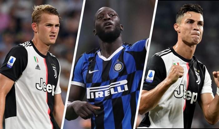 Lukaku derde beste verdiener in Serie A, Ronaldo op eenzame hoogte
