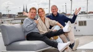 Gert Verhulst en Karen Damen zijn minnaars in 'Chateau Cupido'