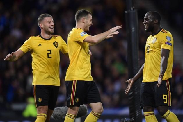 Rode Duivels zijn op dit moment eerste reekshoofd voor EURO 2020
