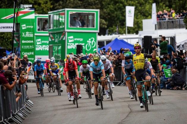 Groenewegen doet opnieuw haasje-over met Van der Poel in Ronde van Groot-Brittannië