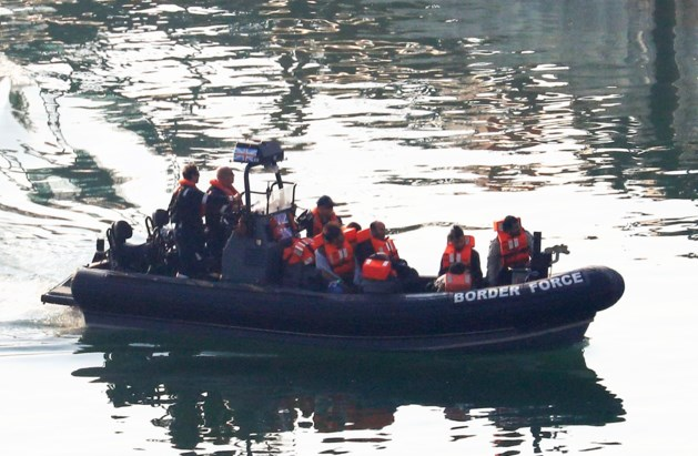 Recordaantal van 86 migranten gevat die het Kanaal probeerden over te steken