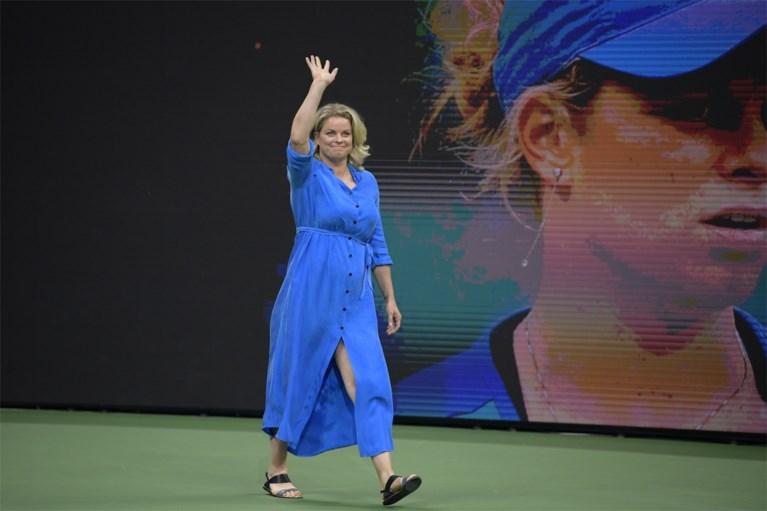 IN BEELD. Stralende Kim Clijsters was twee weken geleden nog eregast op US Open