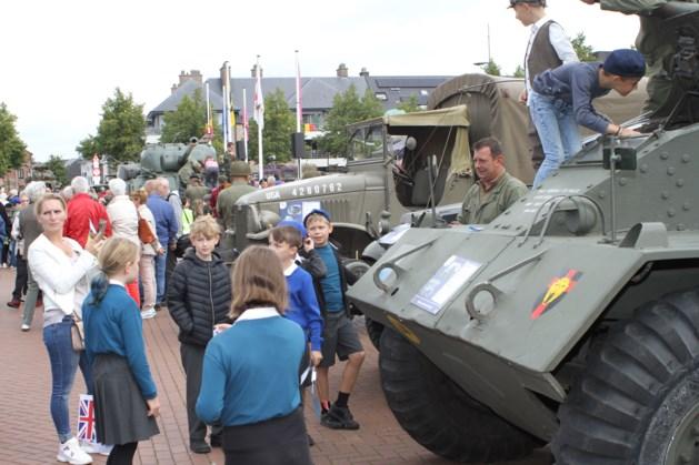 Historische bevrijdingscolonne bereikt Leopoldsburg