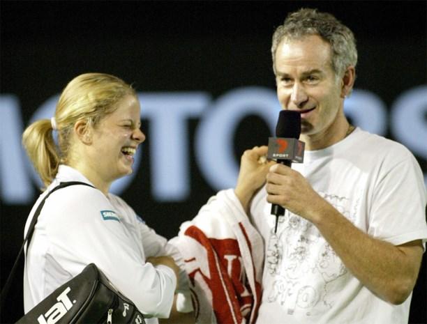 "Oma Antonie over Kims comeback: ""John McEnroe haalde haar over de streep"""