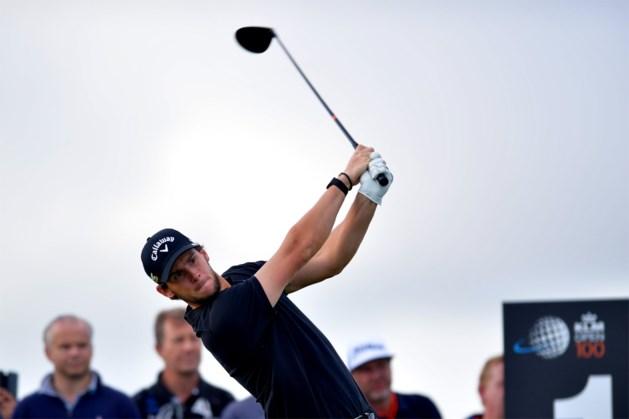 KLM Open golf: Thomas Pieters schuift op naar achtste plaats