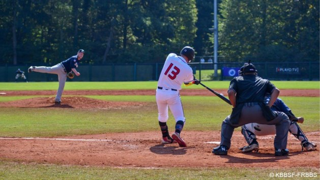 EK baseball: Belgische Red Hawks zaterdag tegen Tsjechische baseballers