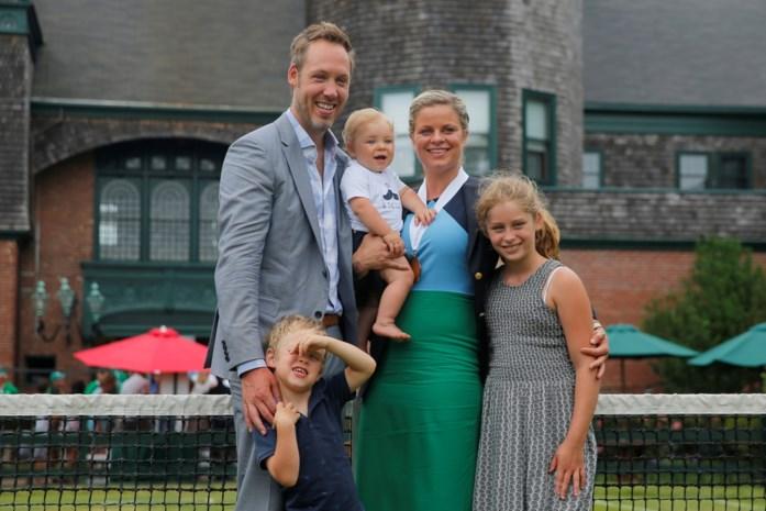 """Clijsters terug op de court dankzij haar man Brian Lynch: """"Ik hoop vooral dat Kim geniet"""""""