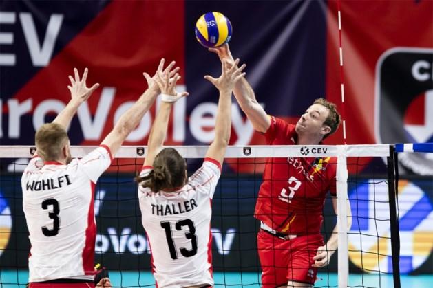 EK volley: Red Dragons nemen voor eigen publiek vlotte start tegen Oostenrijk en verliezen geen set
