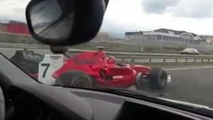 En plots word je op de snelweg ingehaald door... een F1-bolide
