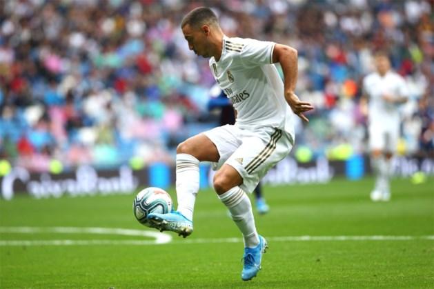 Eden Hazard speelt eerste minuten voor Real Madrid, maar Courtois is de held met ultieme redding