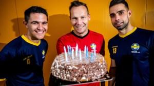 THES-spelers Jeunen, Brughmans en Battista willen verjaardag vieren met eerste zege
