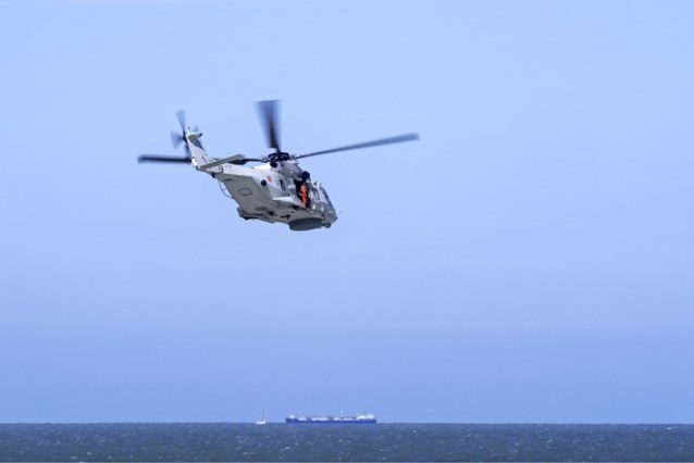 Grootschalige zoekactie naar twee vermiste duikers aan Belgische kust
