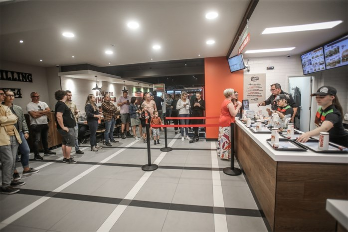Burger King Hasselt overdonderd op avant-première