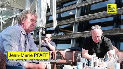 Jean-Marie Pfaff introduceert de VAR bij de Oostenrijkse journalisten
